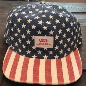 Vans adjustable Stars and Stripes Hat